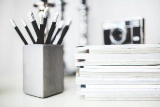 Schrijven van artikelen en eindredactie van magazines